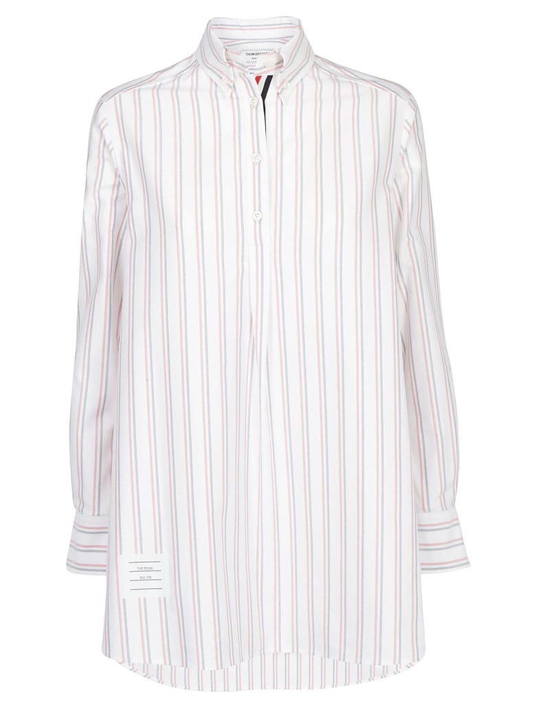 Thom Browne Tunic Shirt - Rwbwht