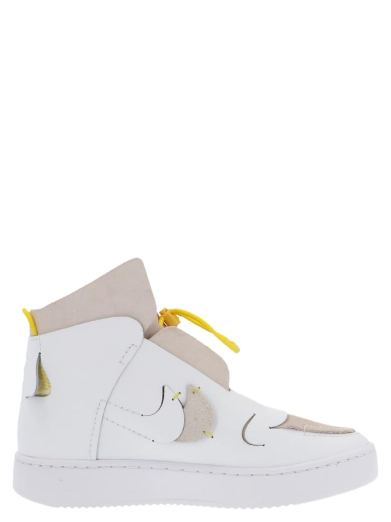 Nike 'vandalised' Shoes - White