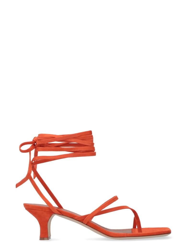 Paris Texas Leather Thong-sandals - Orange