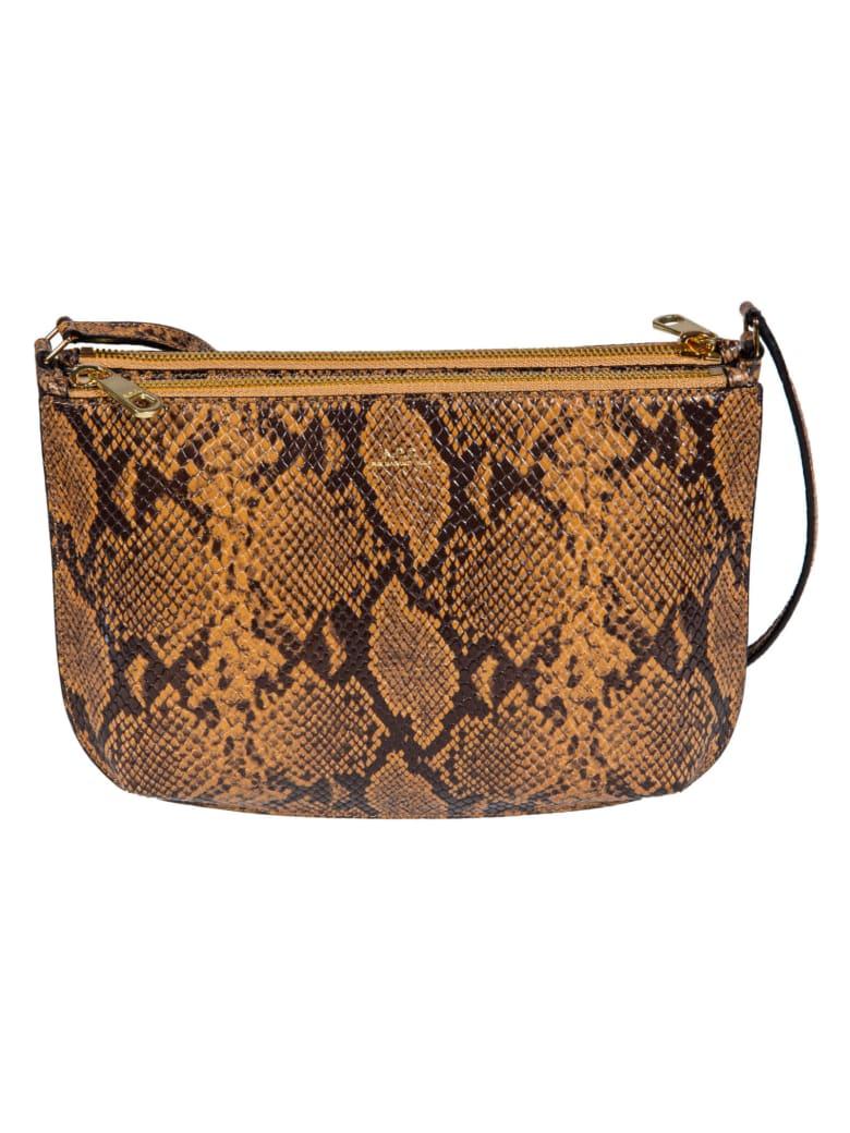 A.P.C. Sarah Shoulder Bag - Crème