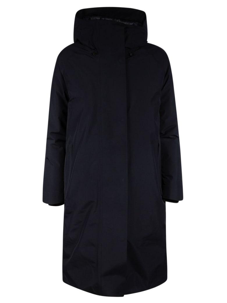 Save the Duck Heroy Long Raincoat - Navy
