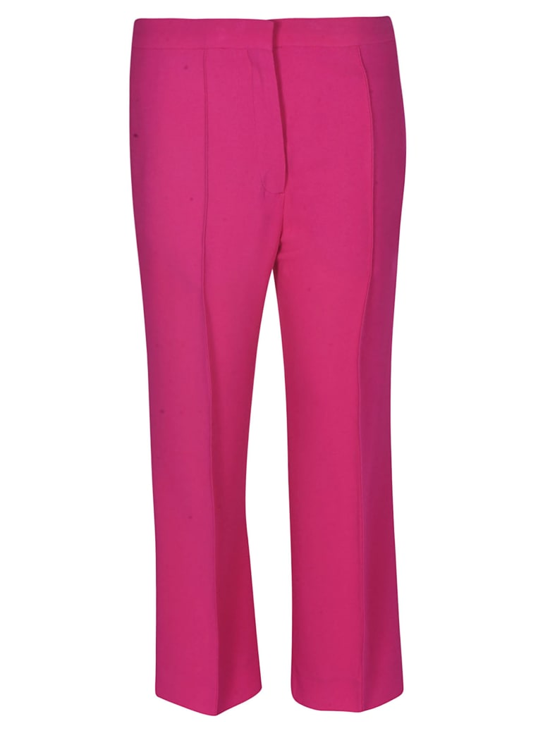 Rochas Pleated Trousers - Pink