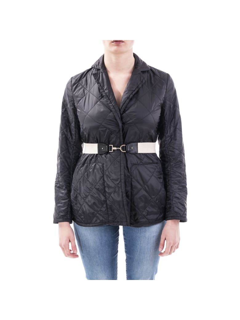 Max Mara The Cube Greenja Down Jacket - BLACK
