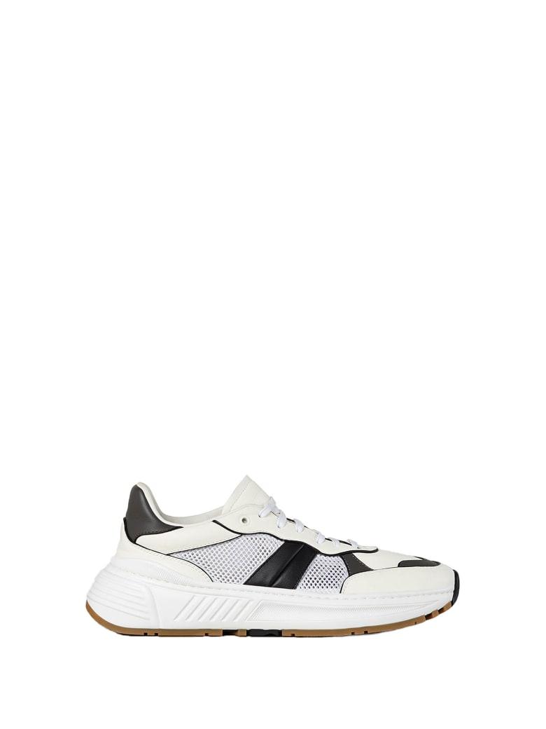 Bottega Veneta Bottega Veneta Speedster Sneakers - BIANCO LIGHT GRAPHITE NERO