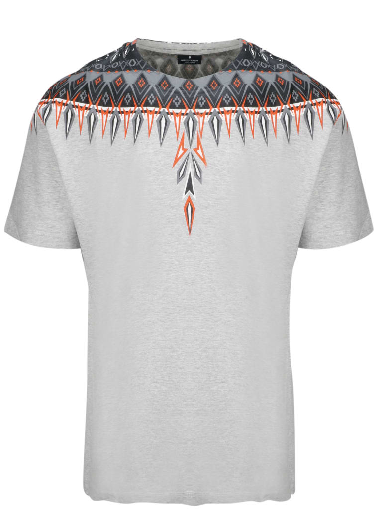 Marcelo Burlon Short Sleeve T-Shirt - Grey
