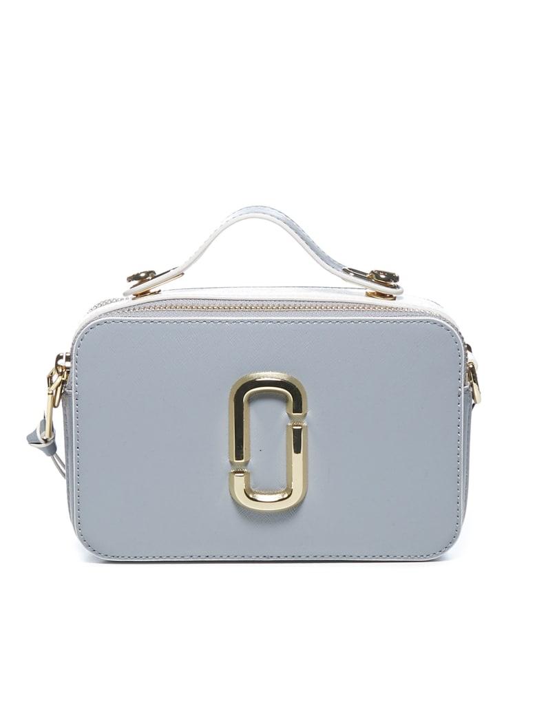 Marc Jacobs Large Snapshot Shoulder Bag - Rock grey