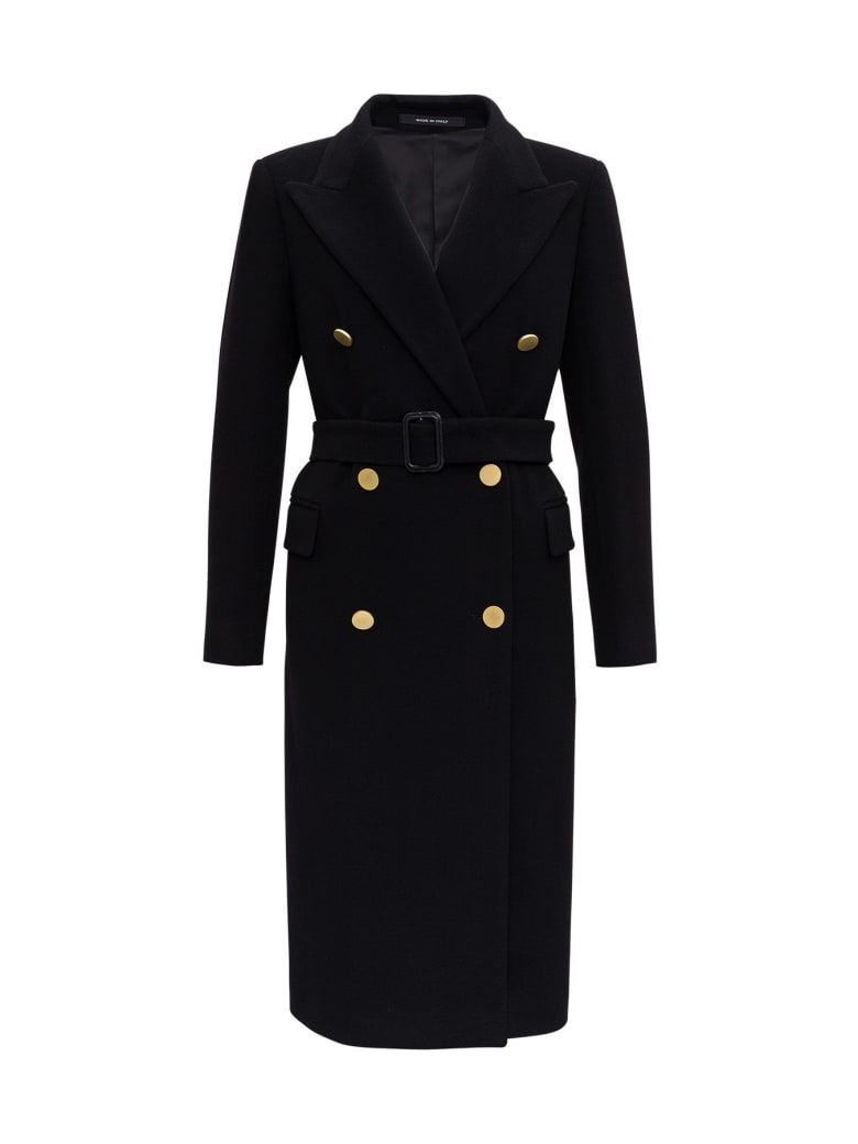 Tagliatore Jole Coat - Black