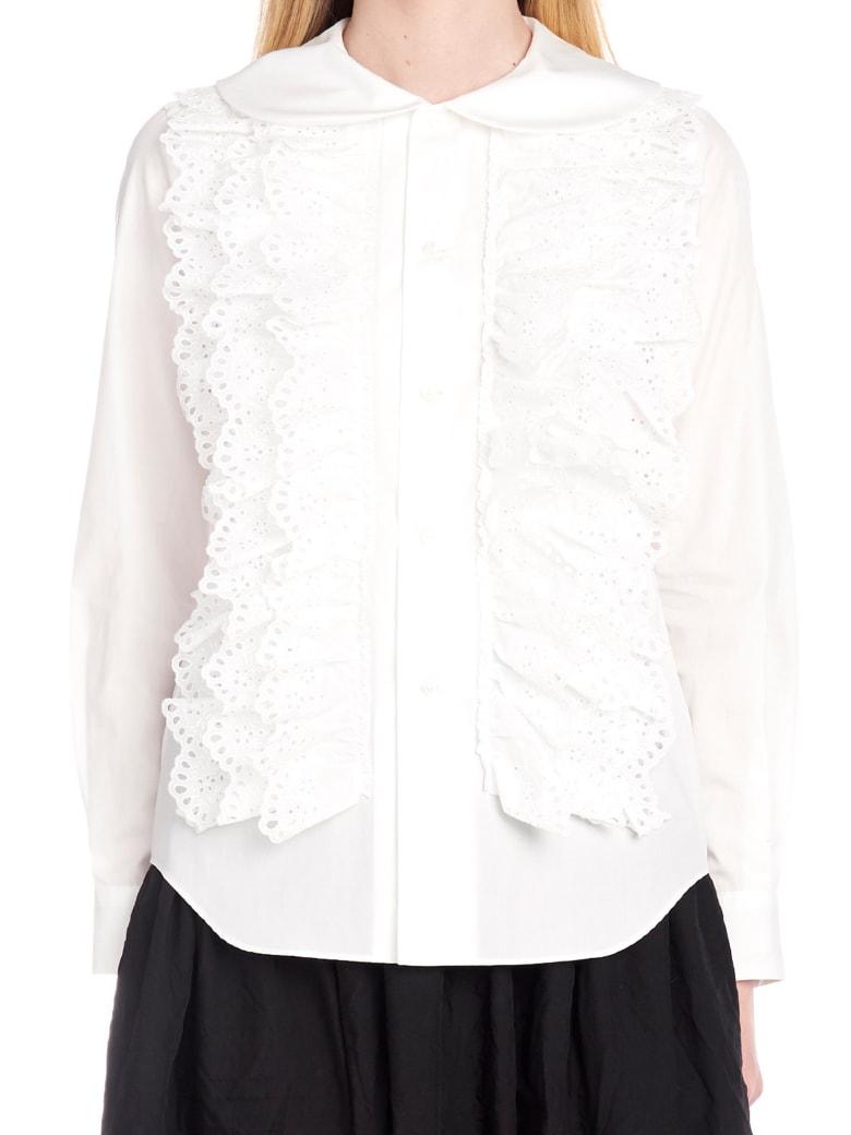 Comme Des Garçons Girl Shirt - White
