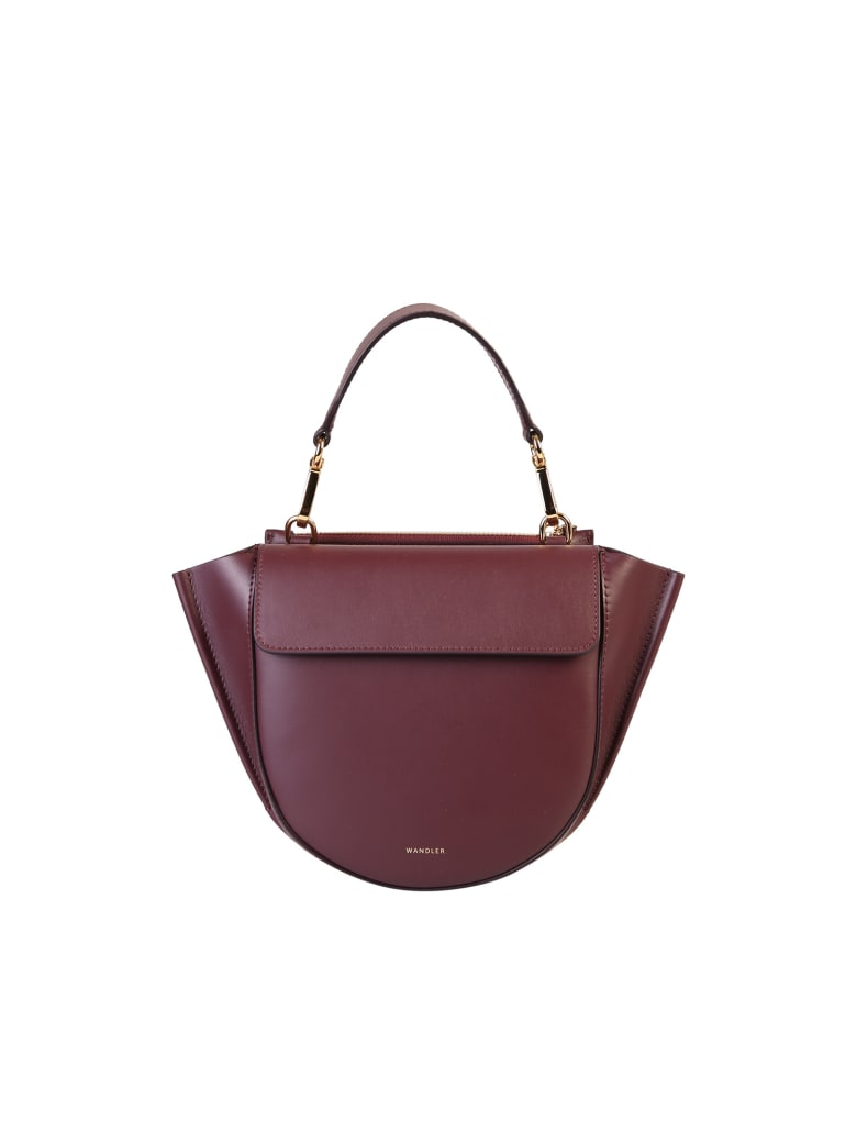 Wandler Hortensia Mini Bag - Bordeaux