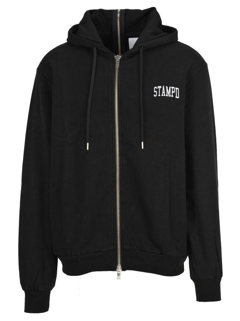 Stampd la Stampd Zipped Sweatshirt - BLACK