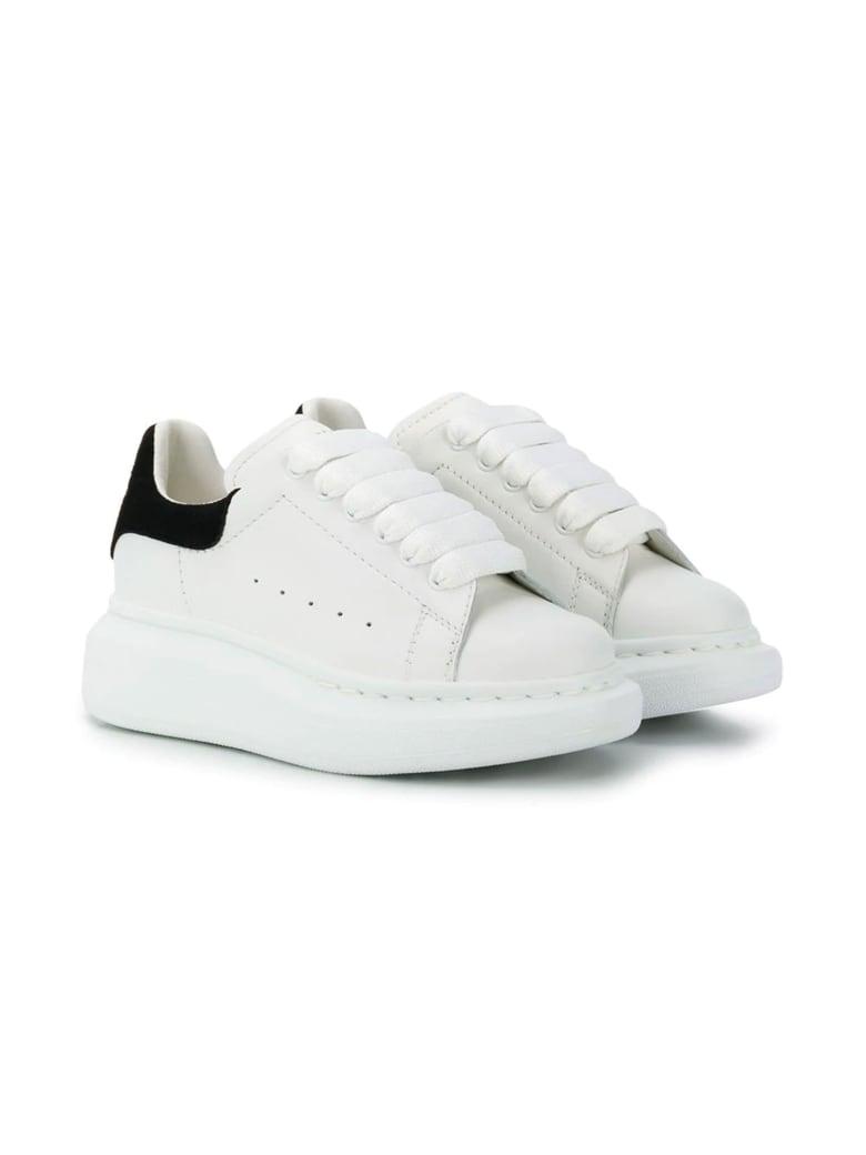 Alexander McQueen Black And White Sneakers Kids - Whiteblack