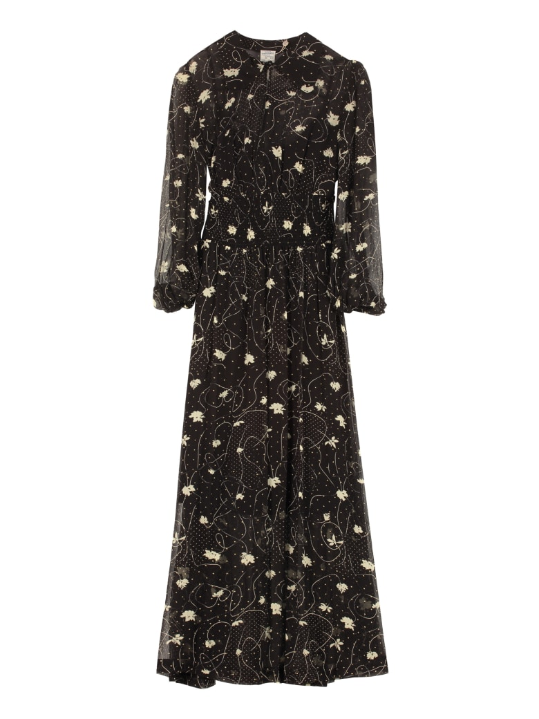 Baum und Pferdgarten Amber Printed Maxi Dress - black
