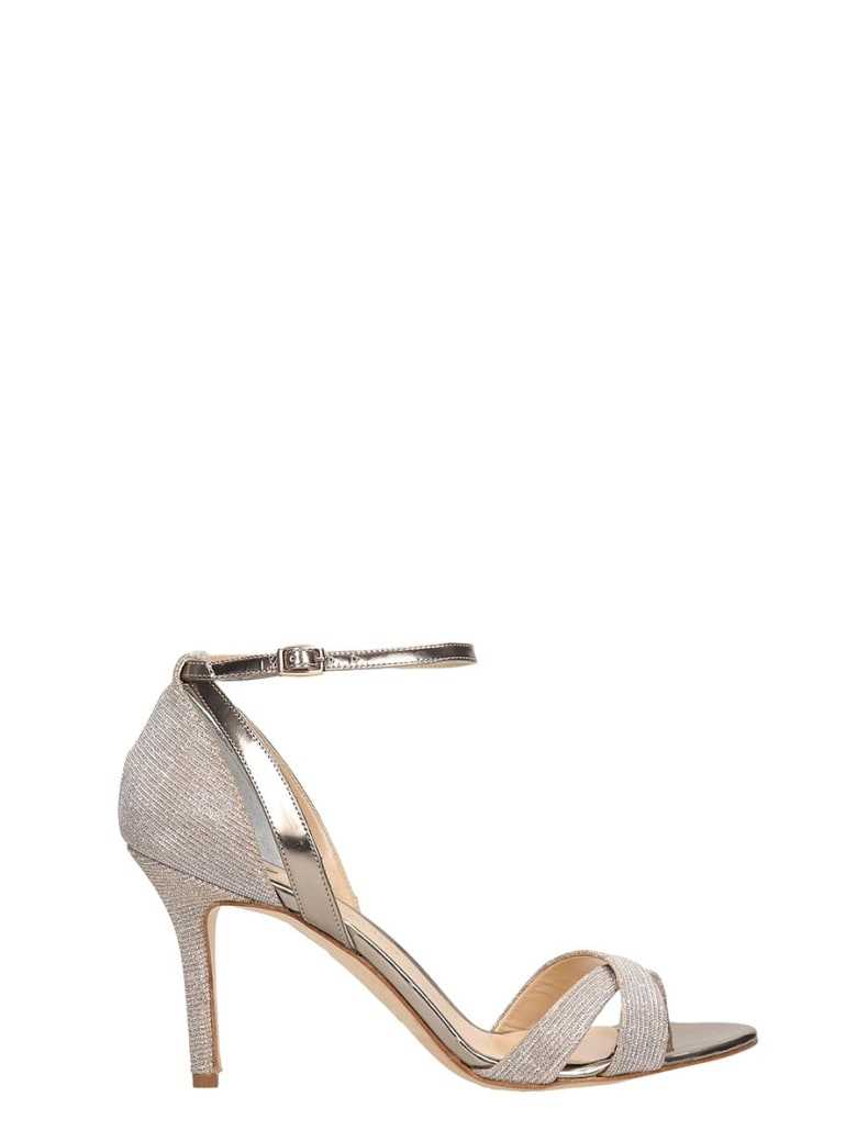 The Seller Champagne Glitter Sandals - gold