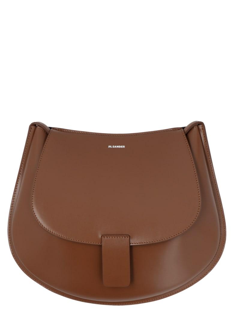 Jil Sander 'crescent' Bag - Brown