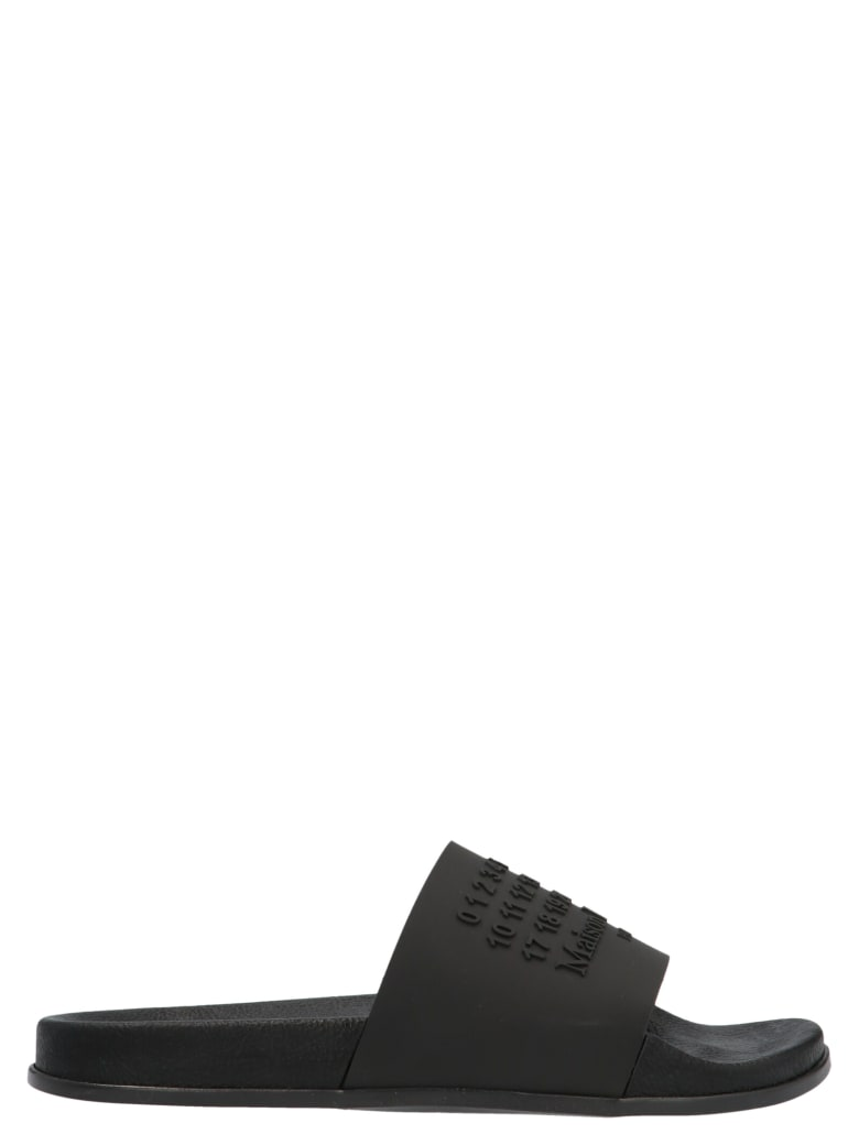 Maison Margiela 'shower' Shoes - Black