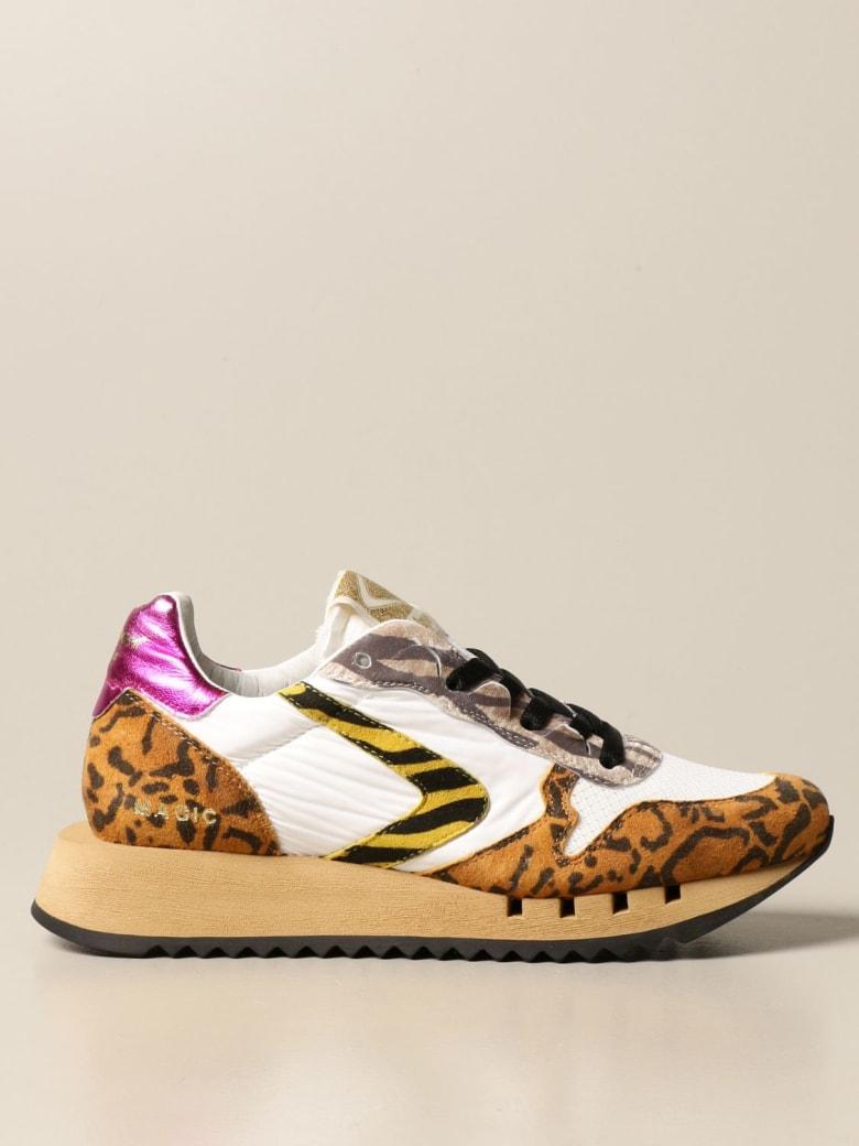 Valsport Sneakers Magic Valsport Sneakers In Suede And Nylon - Beige