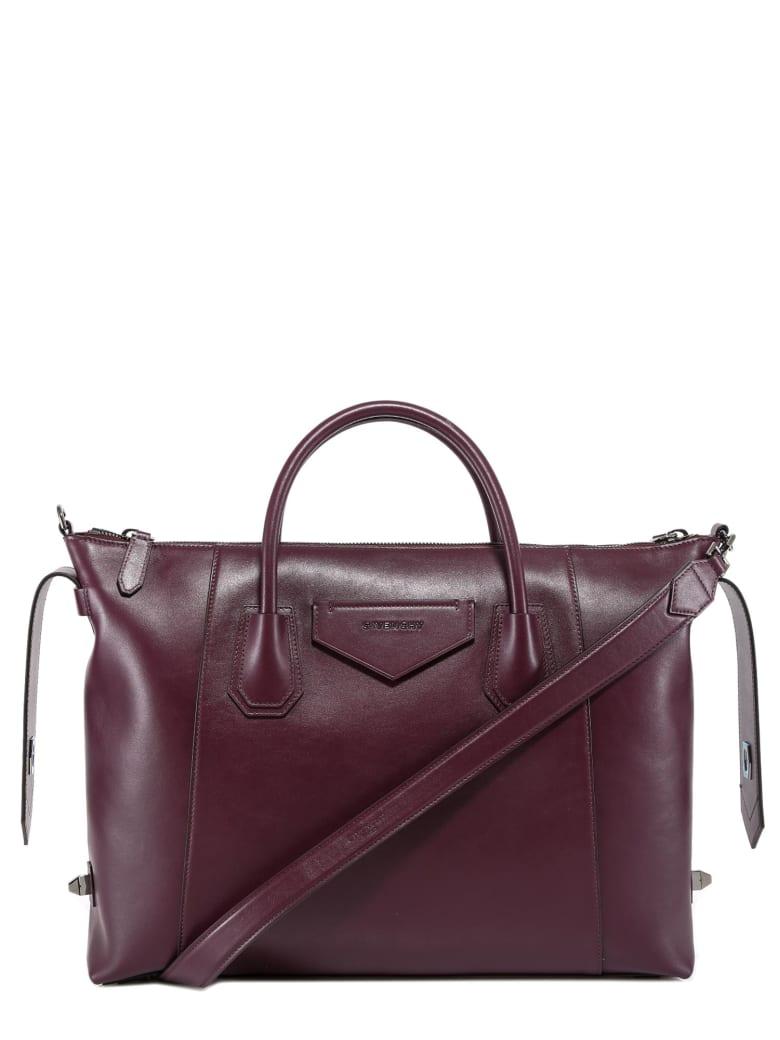 Givenchy Medium Antigona Soft Tote Bag - Red