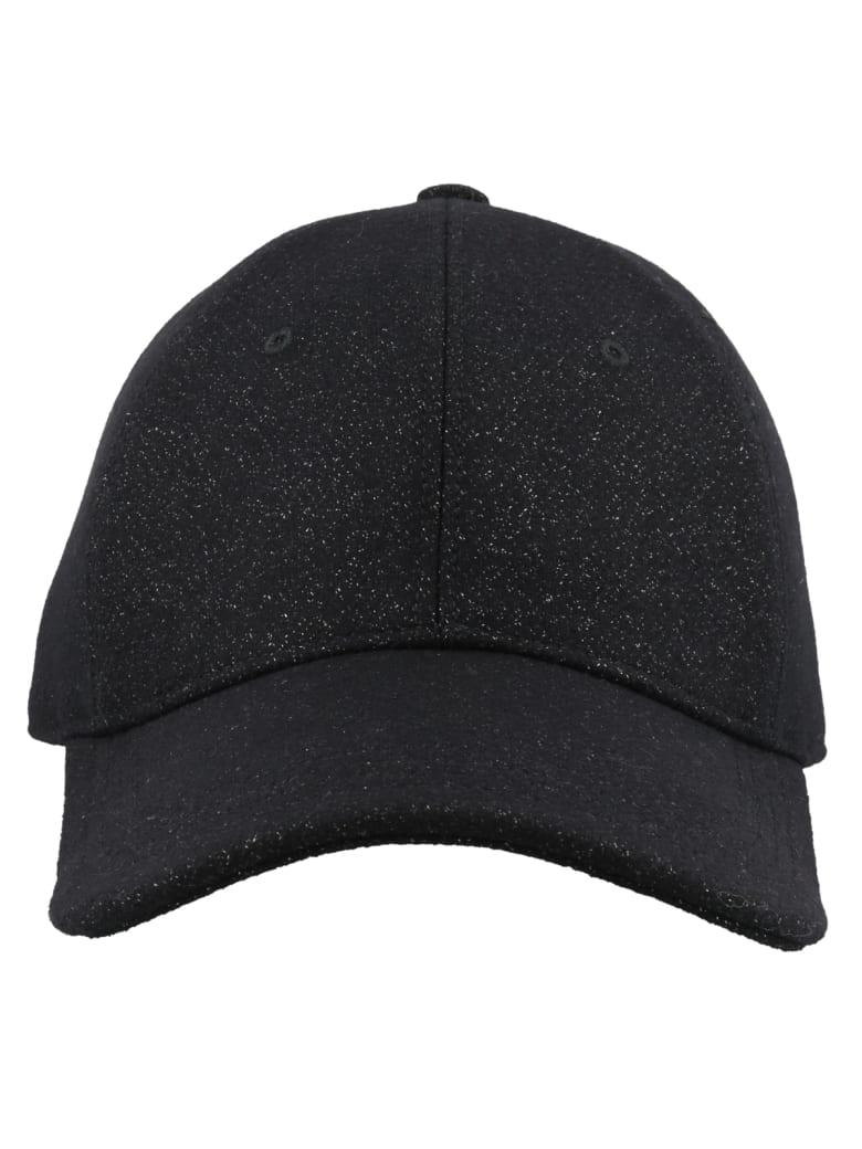 Alexander McQueen Logo Mcqueen Baseball Cap - Black