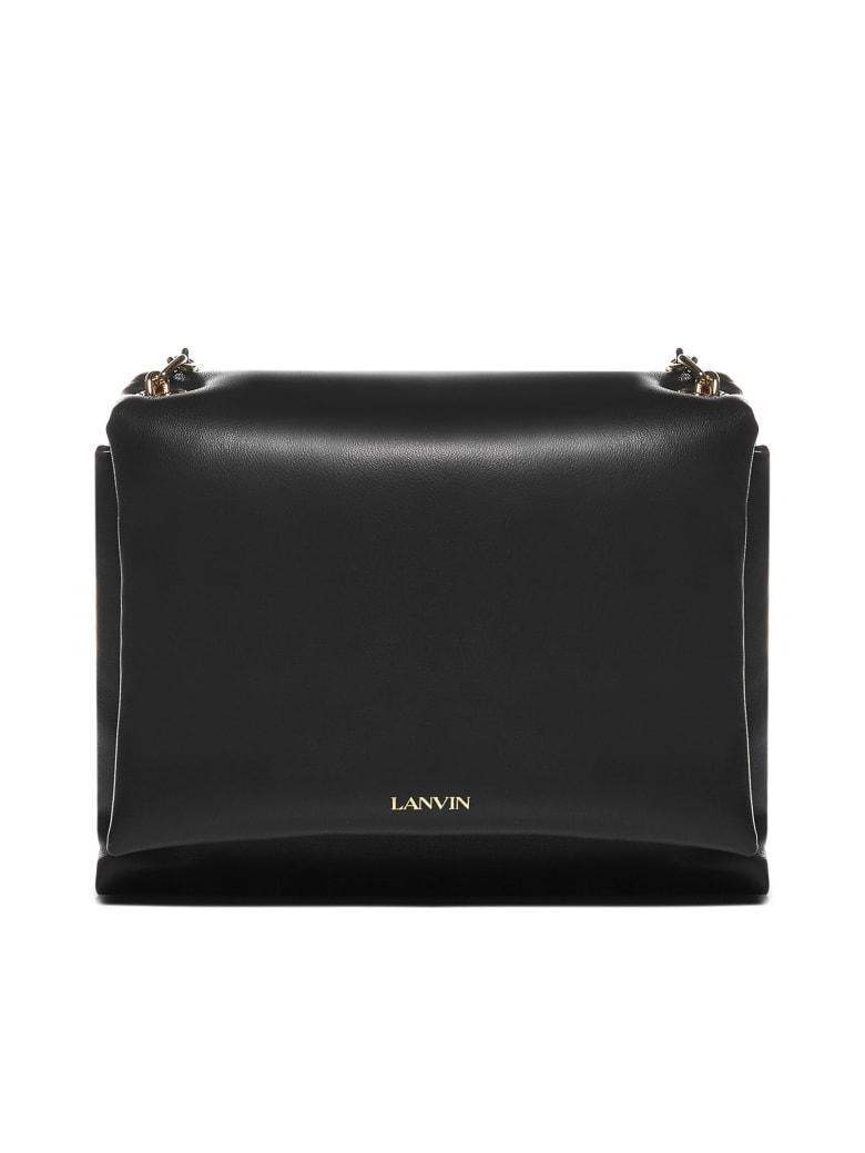 Lanvin Sugar Nappa Leather Small Bag - Black