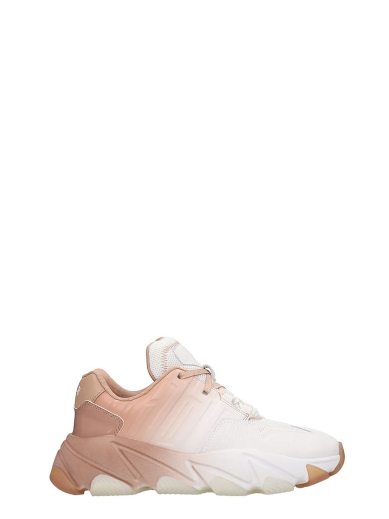 Ash Extasy 05 Sneakers In White Tech/synthetic - white