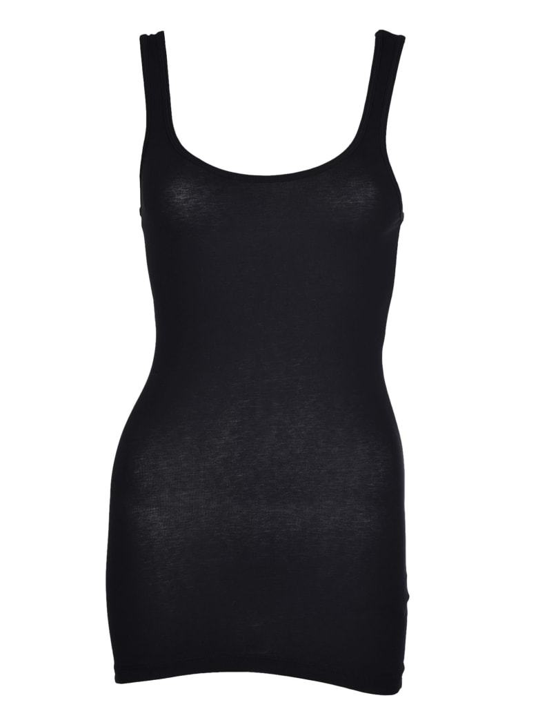 James Perse Classic Tank Top - Black