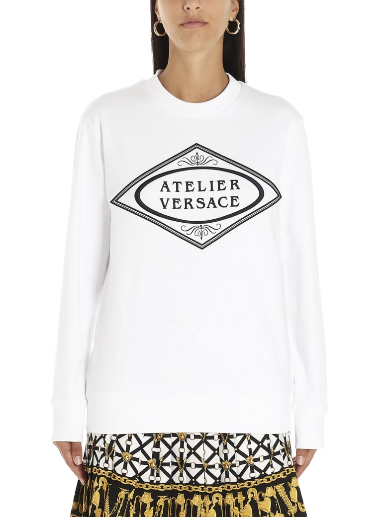 Versace 'atelier Versace' Sweatshirt - White