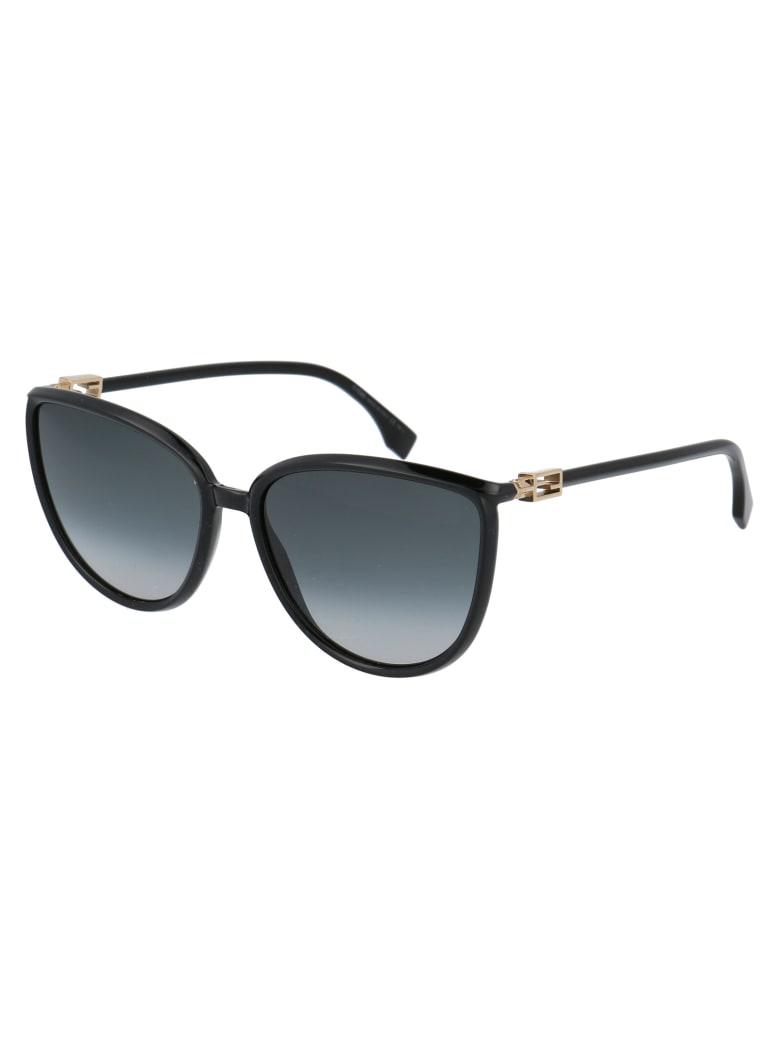 Fendi Ff 0459/s Sunglasses - 8079O BLACK