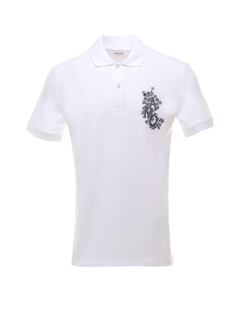 Alexander McQueen Polo Shirt - White