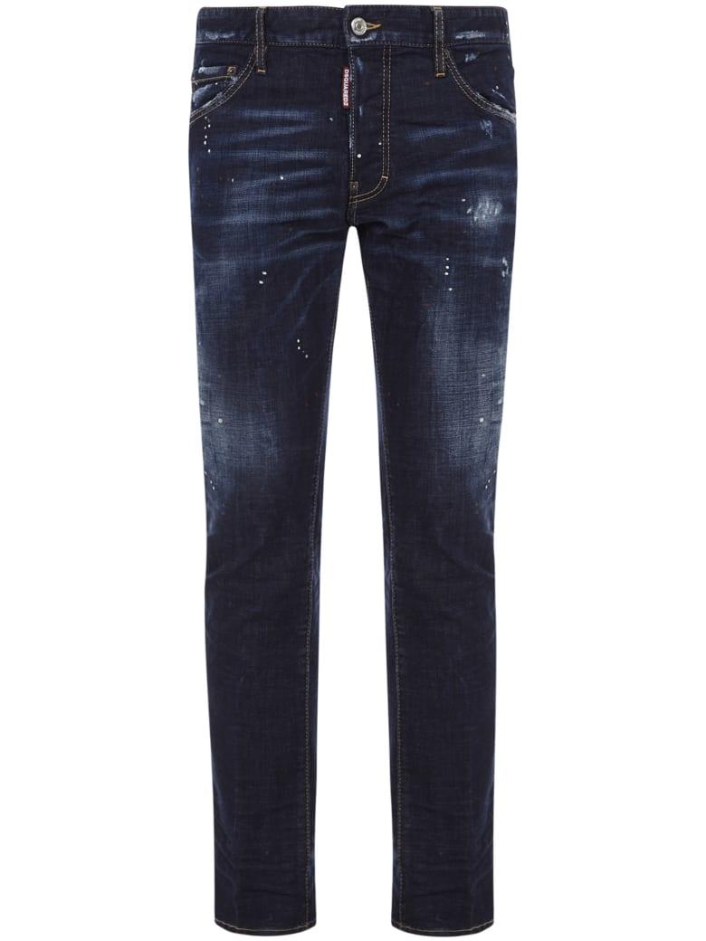 Dsquared2 X Ibra Icon Jeans - Blue