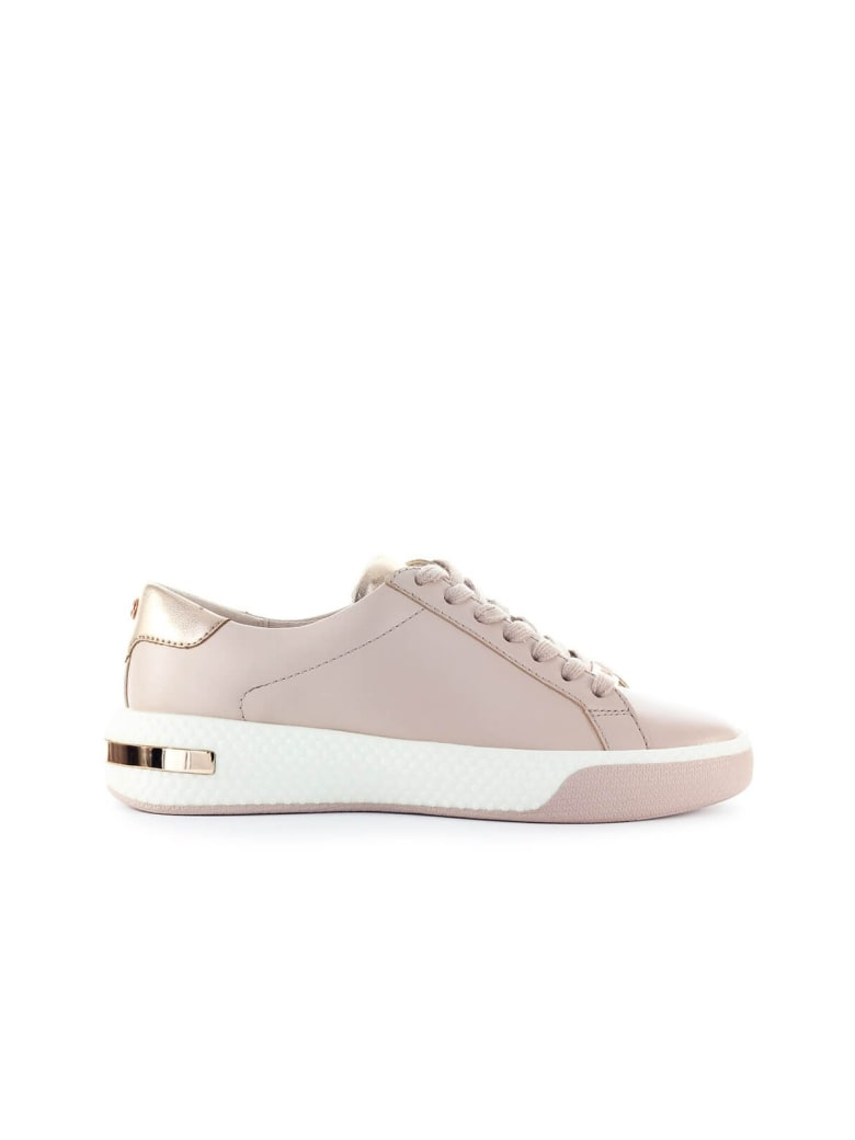 All Star Low top Leather Trainers In Dusk Pink Rose Gold