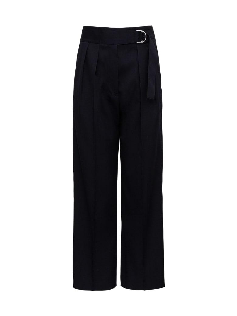 Jil Sander Wide-leg Pants - Blu