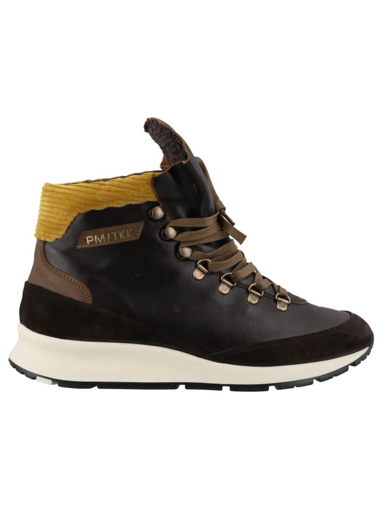 Philippe Model Trekking Sneakers - Black/gold