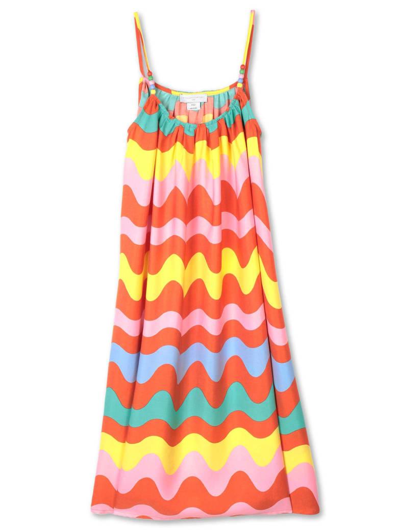 Stella McCartney Swiggle Viscose Dress - Multicolor