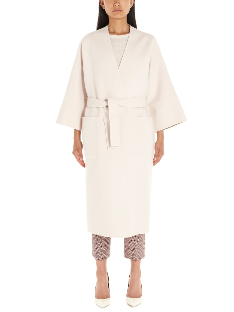 Weekend Max Mara 'pegli' Coat - Beige