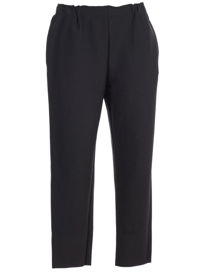 Issey Miyake Pants Elastic Waist - Black