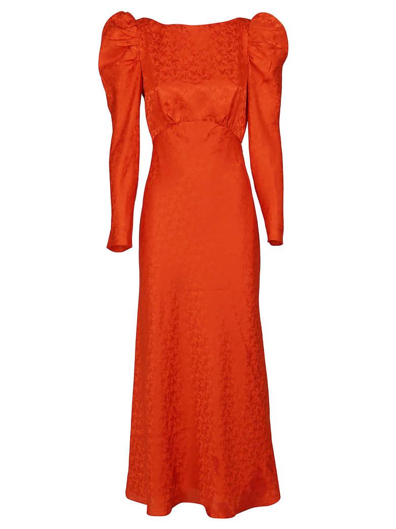 Saloni Dress - Bitter orange