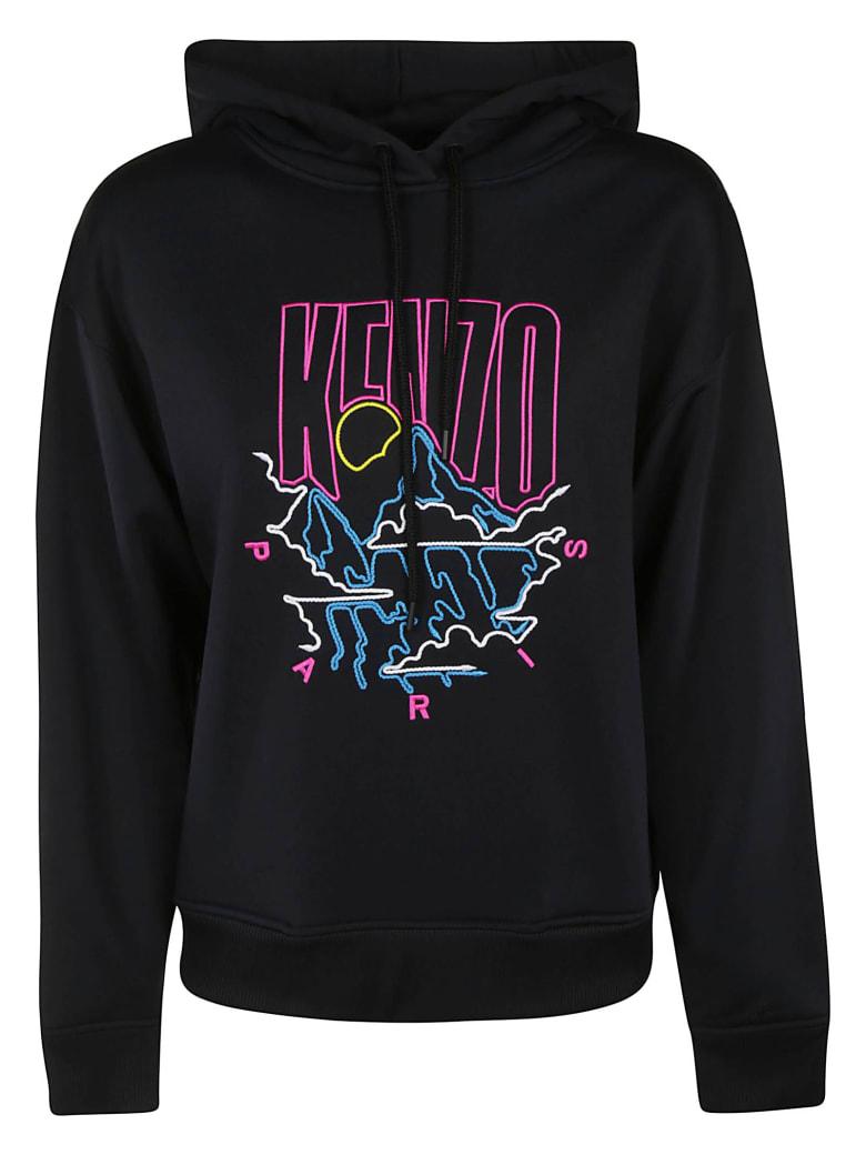 Kenzo Mountain Cords Hoodie - black