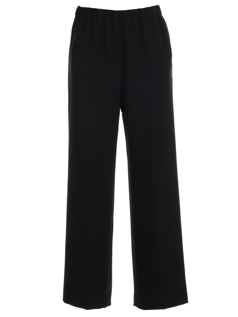 Aspesi Pants Elastic W/pocket Cady - Nero