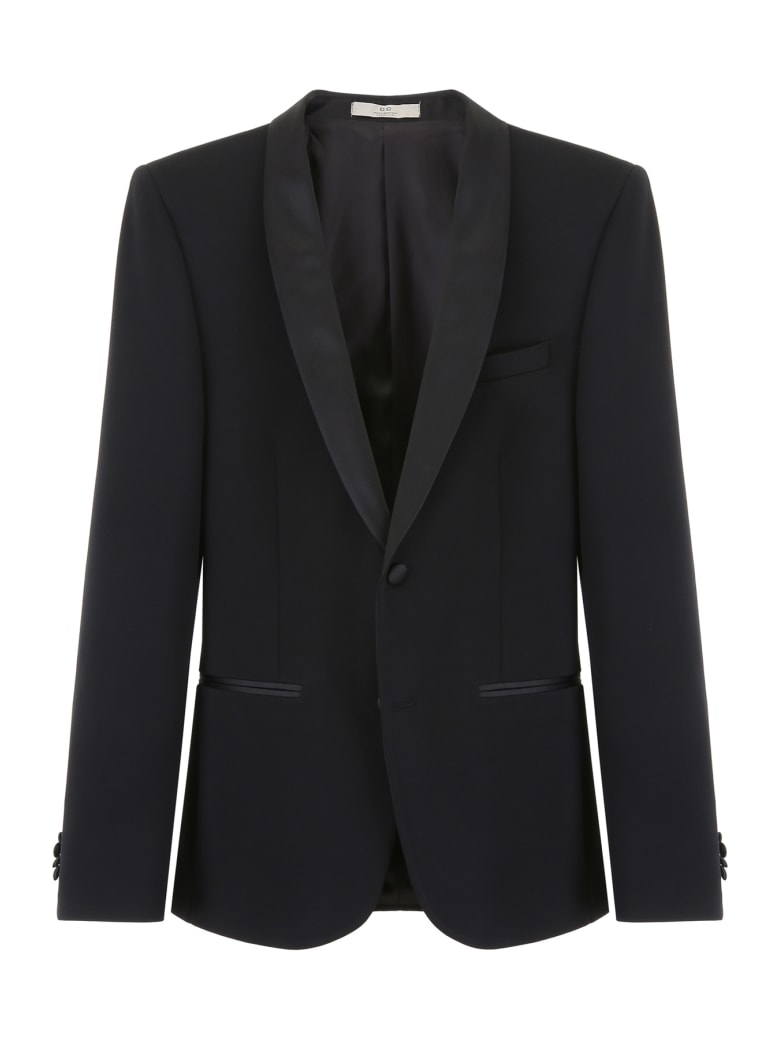 CC Collection Corneliani Tuxedo Jacket - NERO (Black)