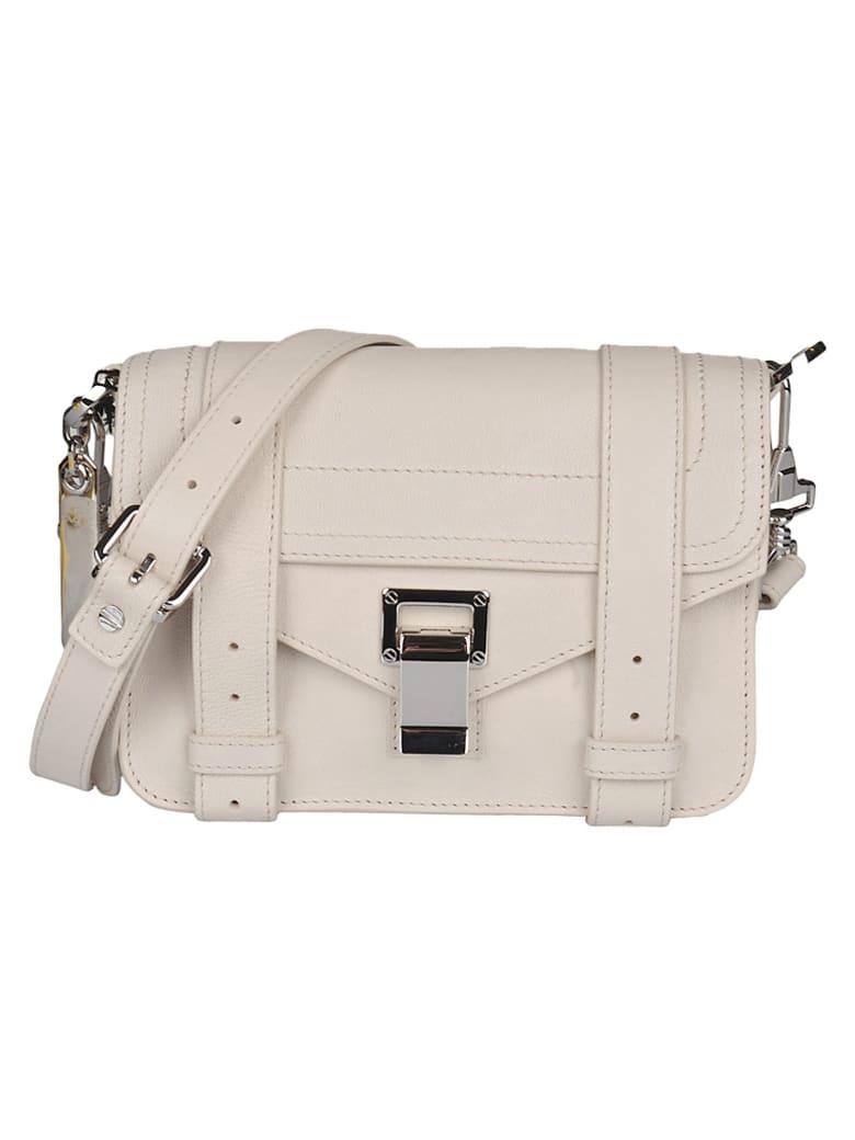 Proenza Schouler Snap-lock Detachable Strap Envelope Shoulder Bag - Clay