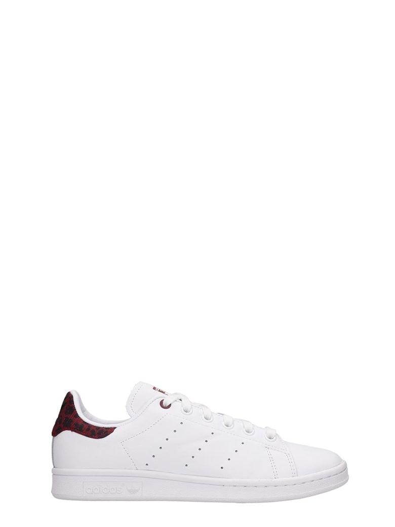 Adidas Stan Smith Sneakers In White Leather - white