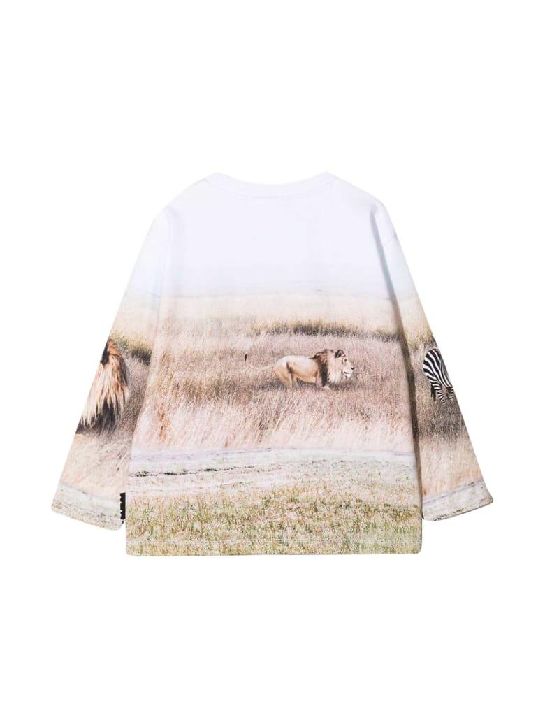 Molo White Sweatshirt - Unica
