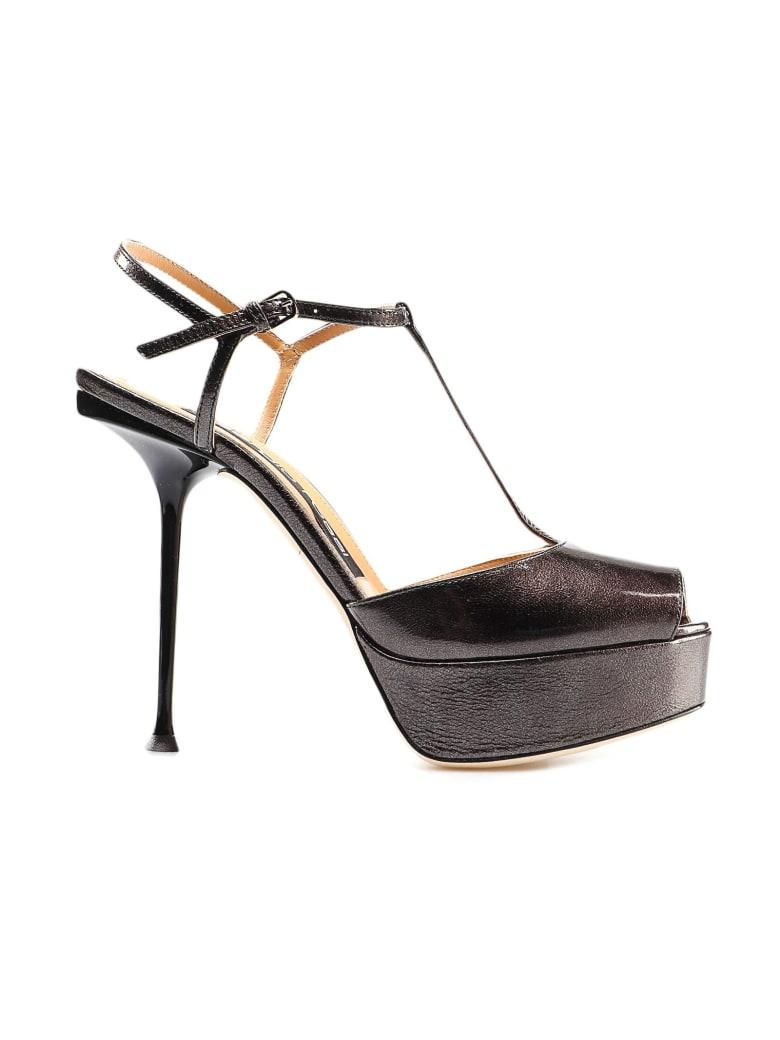 Sergio Rossi Sr Milano H90 Sandal - Antracite