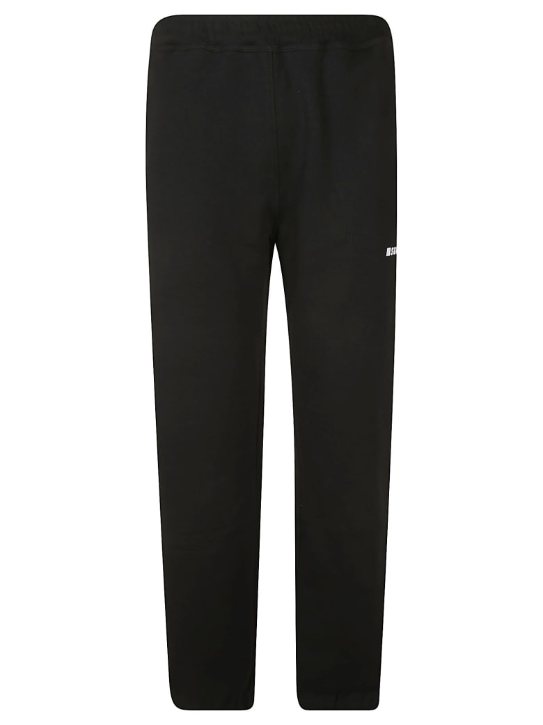 MSGM Side Logo Track Pants - Black