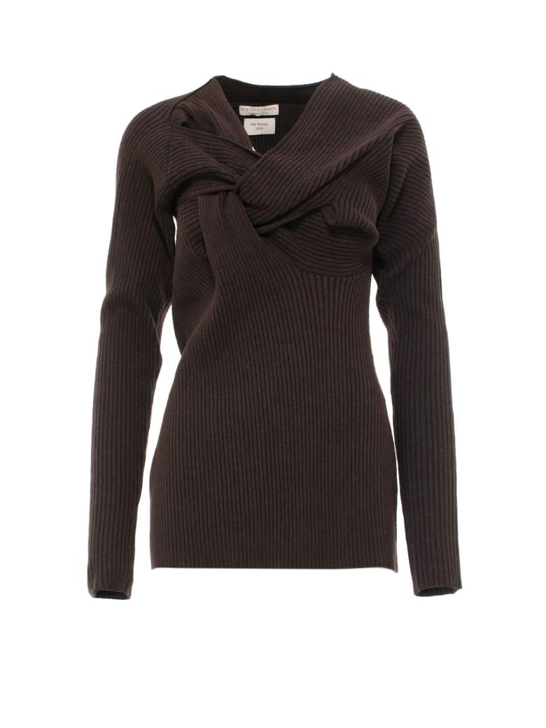 Bottega Veneta Sweater Weave Knit - Brown