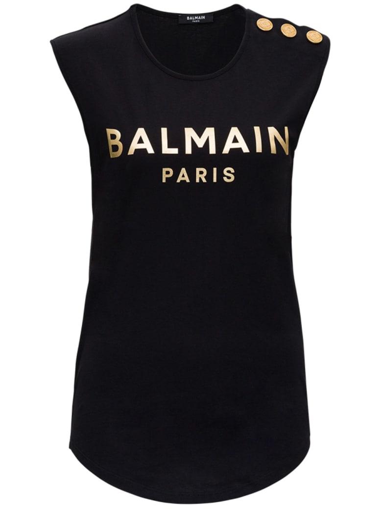 Balmain Vf11000b020ead - Black
