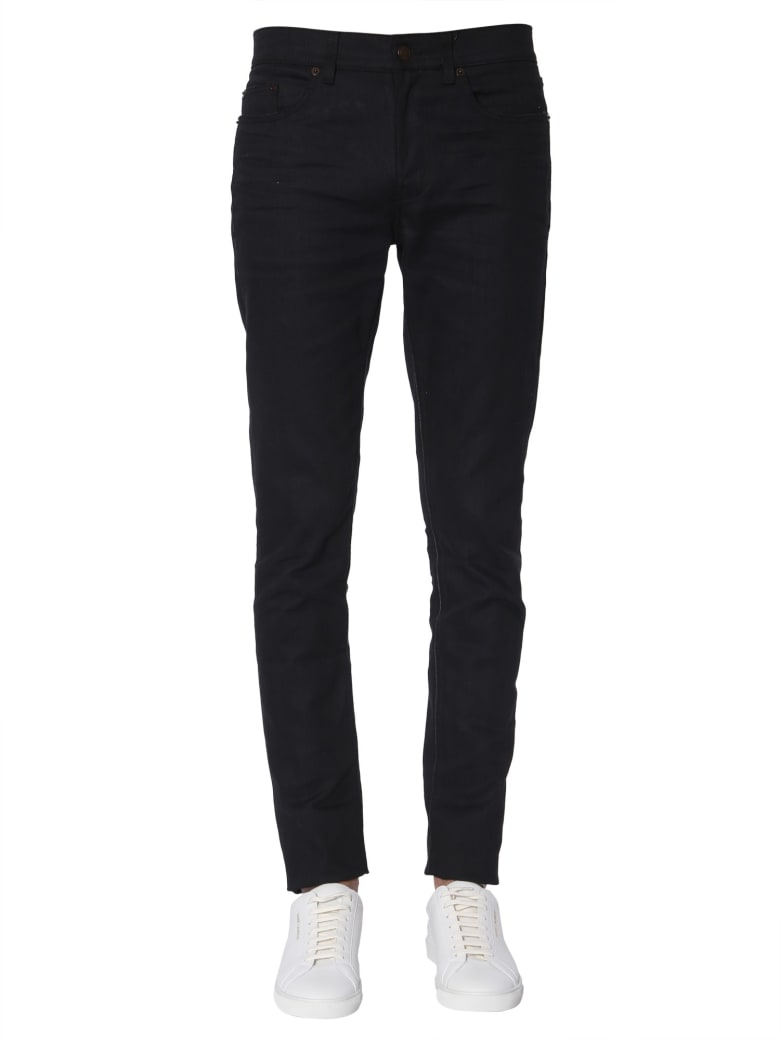 Saint Laurent Low Waist Jeans - NERO