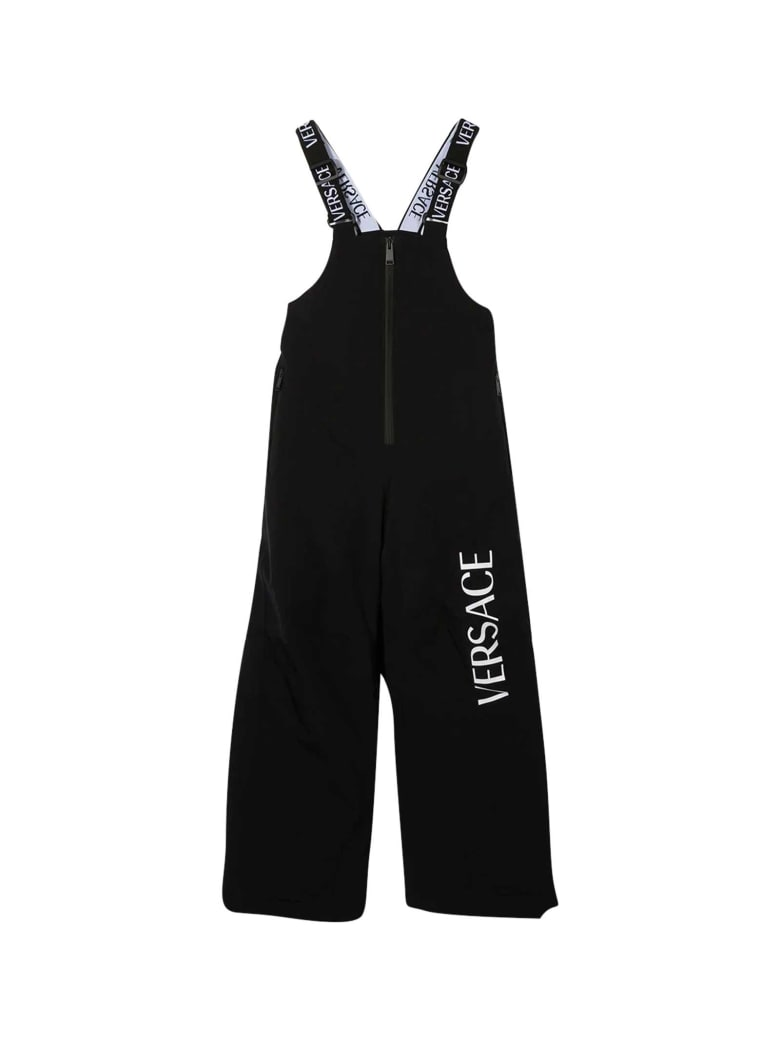 Young Versace Black Dungarees - Nero