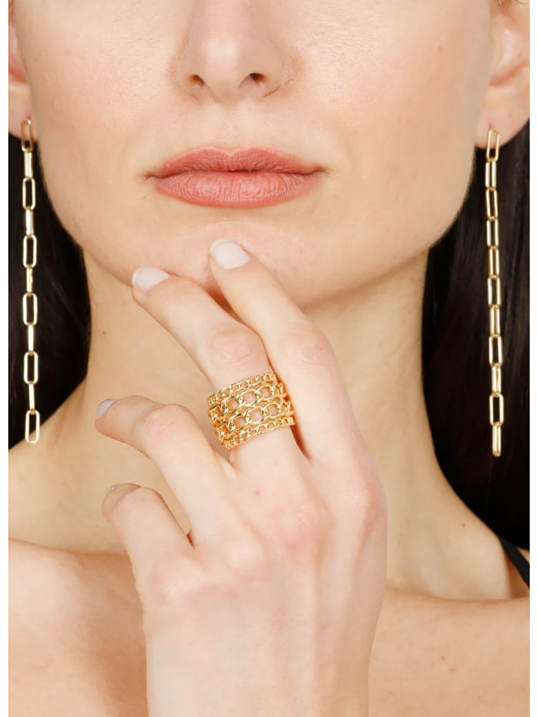 Federica Tosi Elle Ring - Gold