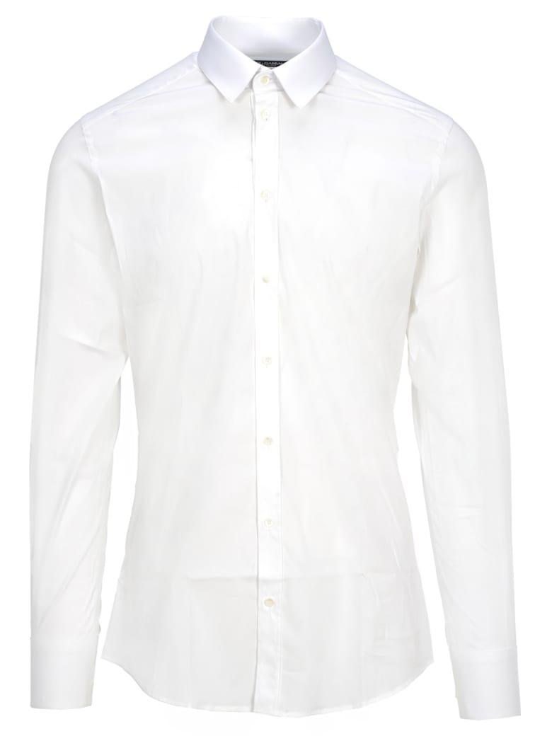 Dolce & Gabbana Dolce&gabbana Dolce & Gabbana Gold Fit Shirt - WHITE